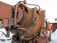 Каналопромывочные работы. Вывоз строительного мусора СПб