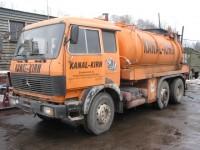 Илососная машина. Вывоз строительного мусора Петербург